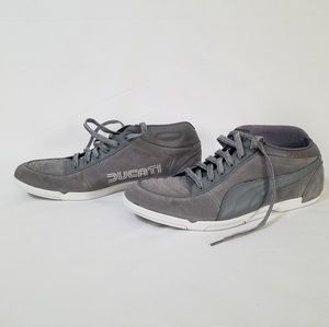 the latest b982b 65d2e 🎈50% OFF PUMA DUCATI Suede Leather Steel Gray 12